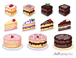 Cake clipart piece of cake clipart bakery clipart pastry clipart sweet clipart dessert clipart vector graphics