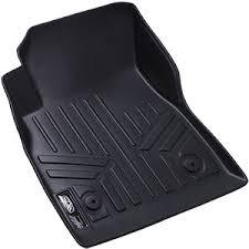 amazon com maxfloormat floor mats 3 row set black for 2013 2016