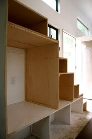 How To Build A Loft Bed With Storage Stairs by Create 25sf Storage With These Tiny House Stairs Tinyhousebuild Com