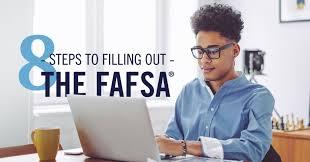 Fafsa Help Desk Number by 8 Steps To Filling Out The Fafsa Form Ed Gov Blog