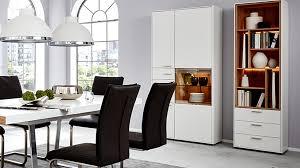 interliving wohnzimmer serie 2102 design regal mit schubladen 510469 mit beleuchtung helles asteiche furnier weißer mattla