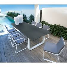 Fortunoff Patio Furniture Covers by Pontoon Rectangular Dining Table Domayne Online Store Outdoor