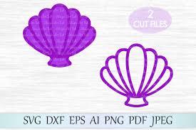 100 Sea Shell Design Svg File Shell Clipart Mermaid Shells Svg Mermaid Tshirt