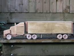 more wooden trucks