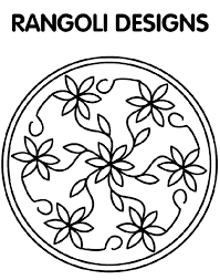 Celtic Coloring Pages To Print Rangoli Designs