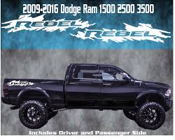 Decals For Dodge Ram Trucks Lovely 2009 2016 Dodge Ram Rebel Vinyl ... Product 4x4 Fx4 Truck Bed Decals For Ford F150 And Super Duty Stripe Usmc Marines Semper Fidelis Stickers Etsy Rode Rip Mudslinger Side 4x4 Rally Xspx Package Vinyl Decal Bedside Fits Toyota Tundra Set Of 3 Predator 2 Fseries Raptor Rebel Edition Shotgun Trucks 082017 Freedom Ar15 Dodge 092014 Style Rear Metal Militia Skull Circle Window X22 2018 For Any Color Pickup