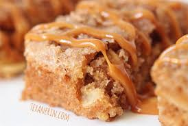 Apple Cake Bars –  whole grain and quick and easy to make