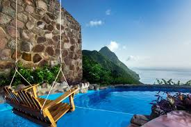 100 J Mountain St Lucia Valentines Day 2019 The 10 Most Romantic Hotels In The World