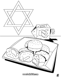 HANUKKAH Coloring Pages For Hanukkah Page