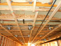 Insulating Cathedral Ceiling With Roxul by Insulating Basement Ceiling Worth It Pranksenders