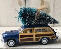 100 Woody Truck Diecast Vintage Christmas Tree Christmas Tree Etsy