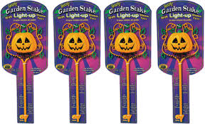 Halloween Yard Stake Lights by 6 99 Reg 15 Light Up Pumpkin Halloween Lawn Stake Free Shipping