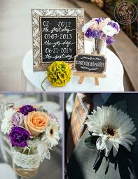 The Ceremony Decor Included Beautiful Floral Arrangements By Garden Party Flowers