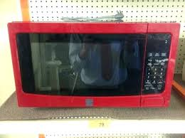 Red Kenmore Microwave Like New