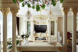 Modern Home Interiors With Functional And Decorative Columns Pillars
