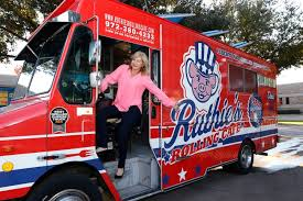 Ashlee Kleinert Daughter Of Dallas Billionaire Ray Hunt Poses For A Portrait On One The Three Food Trucks She Owns Ruthies Rolling Cafe Serves