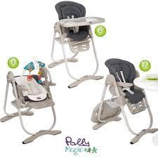 chaise haute évolutive chicco magnifique chaise haute polly magic chicco grey eliptyk