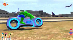 Hulk Rides His Tron Bike Crazy Motorbike Crash Party Children ... Monster Truck Videos For Kids Hot Wheels Jam Toys Stunt Trucks Little Johnny Unboxing And Assembling For Police Race 3d Video Educational Good Vs Evil Street Vehicle Children Racing Car Pictures Wwwpicturesbosscom Youtube Gaming Scary Golfclub Free Download Best Stunts Animation Adventure Of Spiderman With In