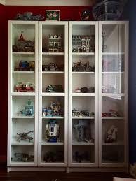 fitting lego sets into ikea detolf glass cabinets brickset forum