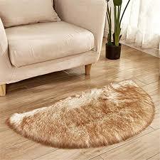 dhhy halbrunde teppich plüsch teppich hause wohnzimmer
