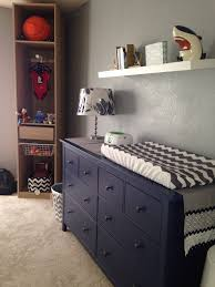 Hemnes 3 Drawer Dresser As Changing Table by Changing Table Dresser From Ikea Hemnes Blue Dresser Navy
