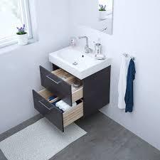 ikea godmorgon bathroom vanity black brown ikea