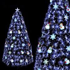Weedoo XMAS SALE 6FT Fiber Optic Artificial Luxury Christmas Tree Pvc