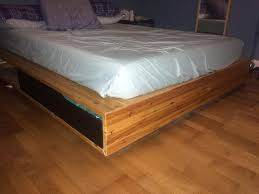 Mandal Headboard Ikea Uk ikea mandal bed frame in kingston london gumtree