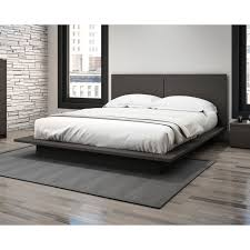 King Platform Bed With Fabric Headboard by Bedrooms Cheap King Platform Bed And Diy Image Of Popular