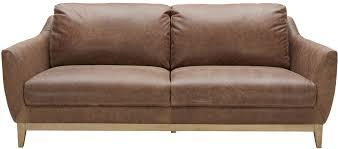 Bernhardt Foster Leather Sofa by Urban Evolution Baker Modern Leather Sofa Belfort Furniture Sofas