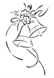 Wedding bell clipart for tables