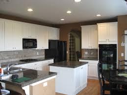 Kitchen Backsplash Ideas With Oak Cabinets by Kitchen Surprising White Cabinets Backsplash And Also White