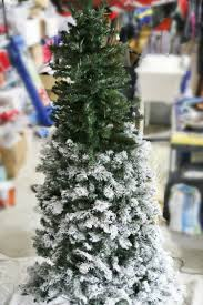 Flocking Artificial Christmas Trees by How To Flock A Christmas Tree And Greenery Sand And Sisal