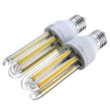 energy saving u shape 9w cob led l bulb e27 corn led light bulb