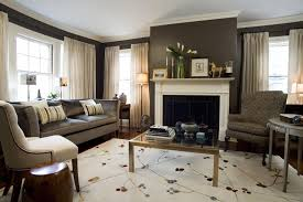 cozy interior with modern area rugs for living room designs
