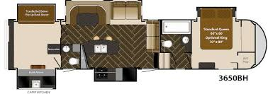 Fifth Wheel Bunkhouse Floor Plans by Used 2014 Heartland Gateway 3650 Bh Fifth Wheel At Fun Town Rv