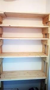 diy wood garage shelves myoutdoorplans free woodworking plans