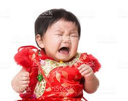 chinese baby crying stock photo 520325327 istock