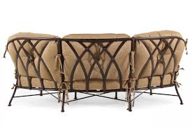 aluminum crescent sofa in mathis brothers furniture