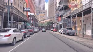 Driving Downtown 4K - New Orleans' French Quarter - USA - YouTube