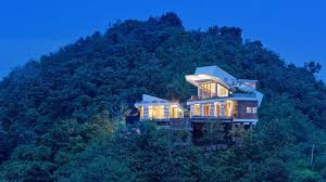 100 Houses Built From Shipping Containers Tilted Shipping Containers Top Scenic Island Home