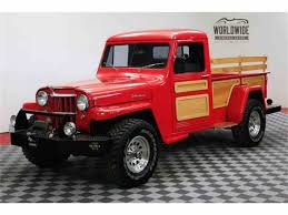 1953 Jeep Willys For Sale | ClassicCars.com | CC-1044830 Willys Trucks For Sale Elisabethyoungbruehlcom 1955 Jeep For Classiccarscom Cc1047349 Jma 490 1942 Ford Gpw Land Rover Centre Used Military Trucks Sale The Uk Mod Direct Sales Dump Ewillys Truck Wikipedia Rat Rod 1951 Pickup Rod Restoration Begning To End Youtube 1960 Pickup 4x4 Frame Off Restored Stinky Ass Acres Offroaderscom Hemmings Find Of The Day 1950 473 4wd Picku Daily Early 50s Willysjeep Truck Pics Request The Hamb Arrgh