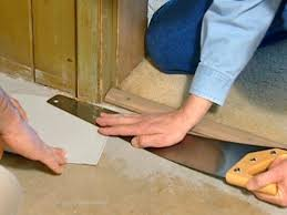Can You Lay Ceramic Tile Over Linoleum by How To Install Vinyl Flooring How Tos Diy