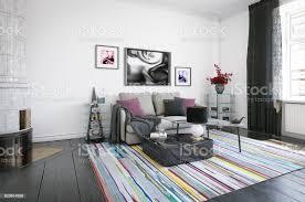 moderne skandinavische wohnzimmer stockfoto und mehr bilder architektur