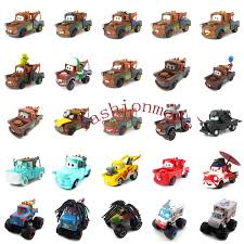 CARS TOW MATER Monster Truck Mater Metal Toy Car 1:55 Loose Kids ...
