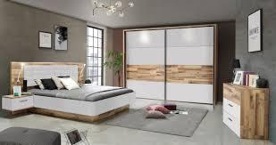 schlafzimmer set 3 tlg modern way forte stabeiche weiss matt