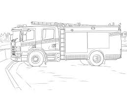 100 Truck Coloring Sheets Fire S Pages Activity Get Page