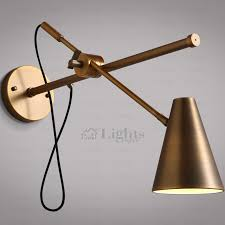 wall sconce swing arm country bronze fixture