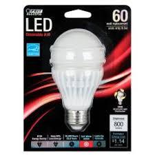 feit electric 9 5 watt a19 led light bulb replaces 60 watt