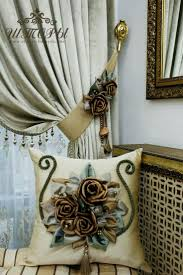 Smocked Burlap Curtains By Jum Jum by 650 Best подушки Images On Pinterest Curtains Cushions And